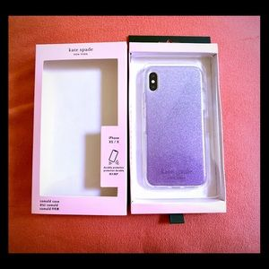 NWT Kate Spade iPhone XS Case